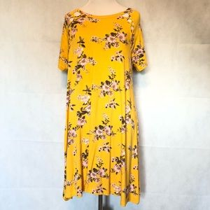 Rue 21 Yellow Floral Dress